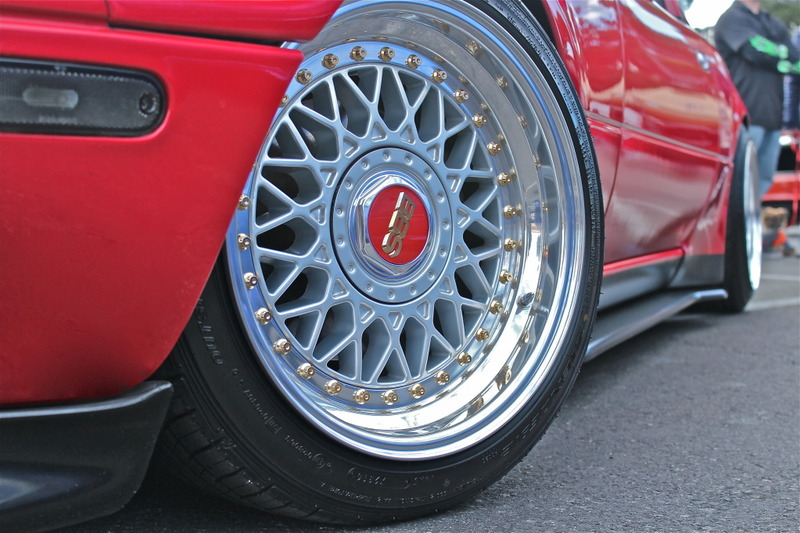 BBS RM 15x8 +14 on Mazda Miata