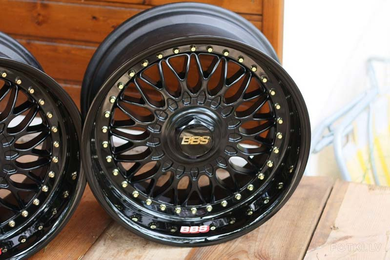 Bbs Rc 090 Black Gold 15 Bbs Rs Zone
