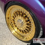 Gold Plated BBS RS