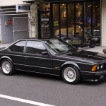 Grey BMW M6 E24 on BBS RS with BMW Logos