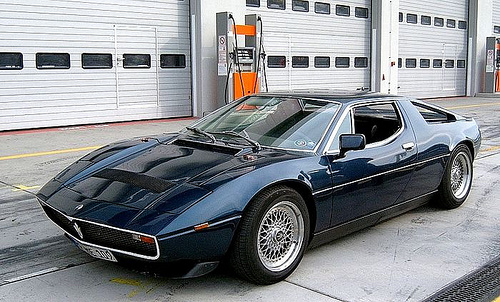 Maserati Merak on BBS RS