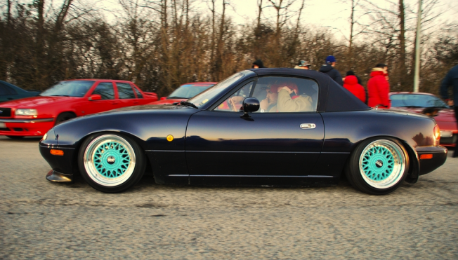 NA Mazda Miata Turquoise BBS RM