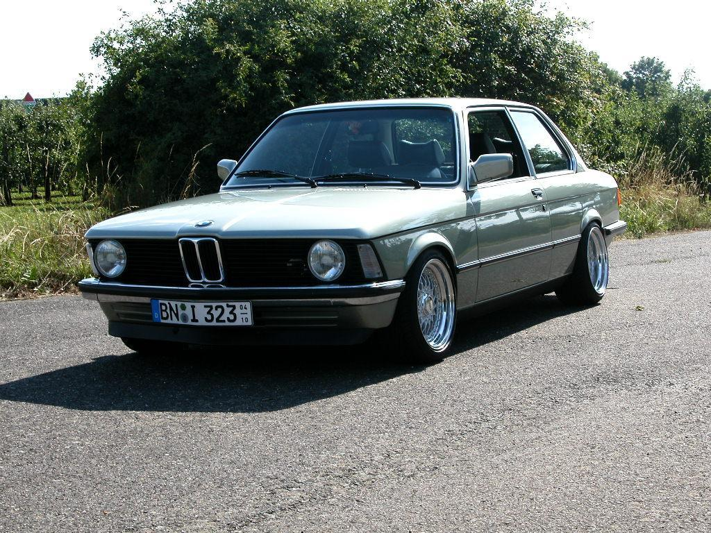 Silver BMW e21 320i on BBS RS with Chrome Caps  BBS RS Zo