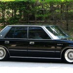 Old School Toyota Crown on BBS RS