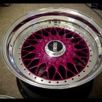 Fuschia BBS RS with Polished Lip