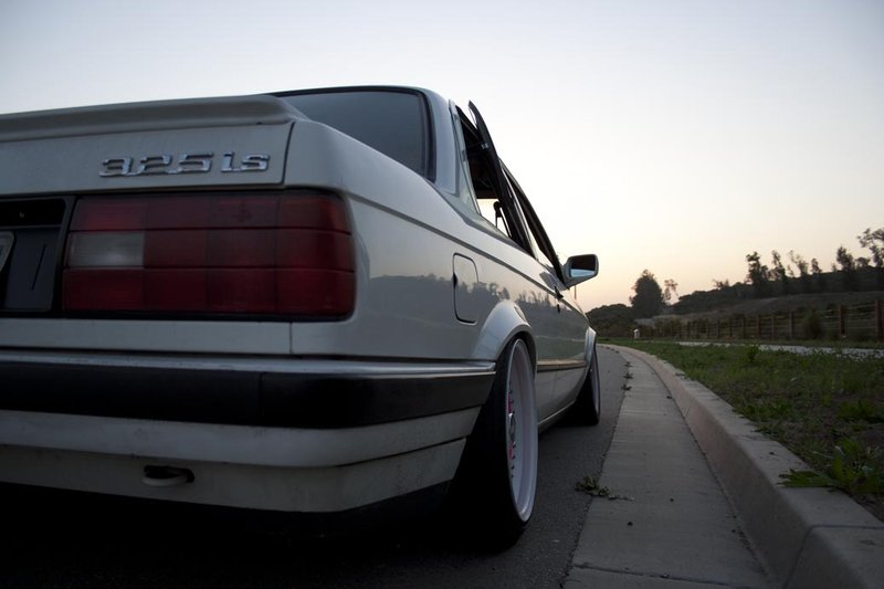BMW E30 on Pink BBS RS - BBS RS005, BBR RS006