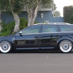 "Black Audi A4 Avant B7 on 18"" BBS RS RS285 & RS286"