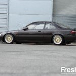 Brown DA Acura Integra on Cream BBS RM
