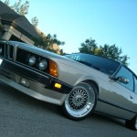 "Champagne BMW E24 Coupe on 18"" BBS RS"