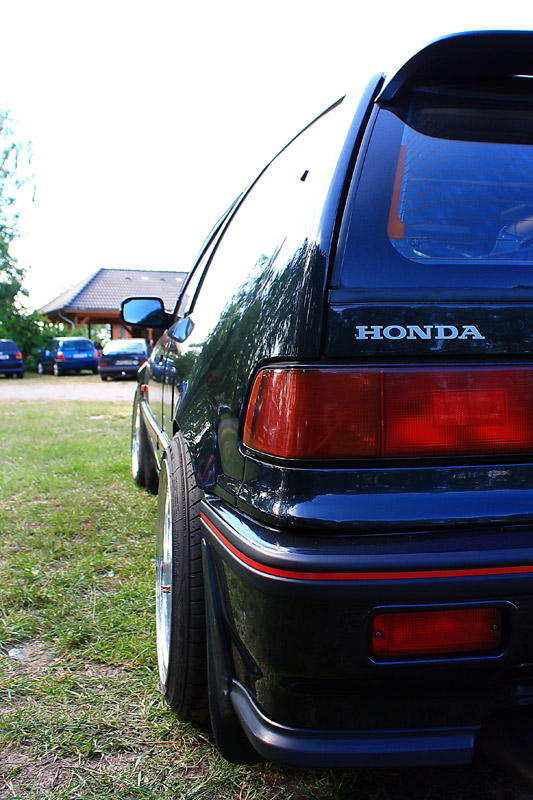 Honda Civic EF on Gold BBS RM