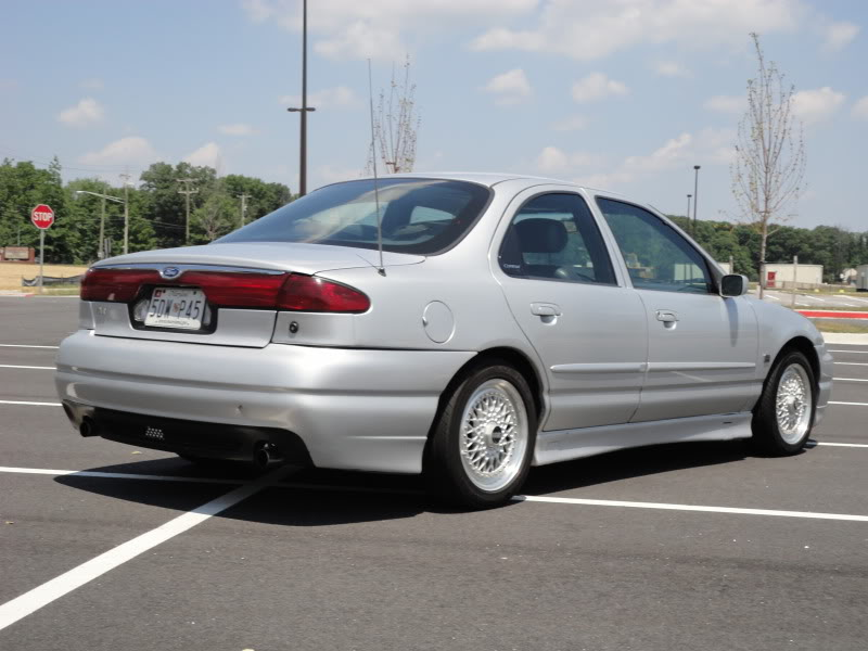 Silver Ford Countour Svt Bbs Rs on 1998 Ford Contour Green