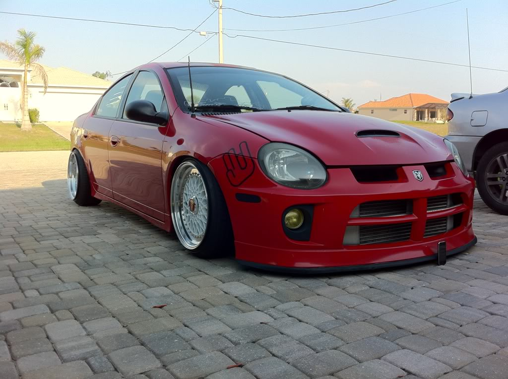 red dodge neon srt4 on 17 white bbs rs bbs rs zone. Black Bedroom Furniture Sets. Home Design Ideas