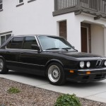 BBS RS - Black BMW E28 on Silver 16x8 BBS RS211