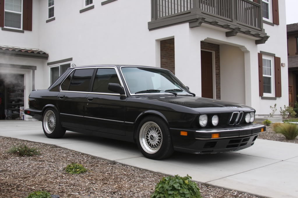 BMW E28 16x8 BBS RS RS211