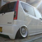 "BBS RS - Daihatsu Move in Japan on 15"" BBS RS"