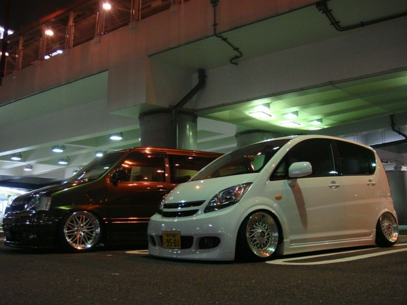 "Daihatsu Move on 15"" BBS RS"