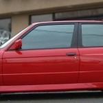 BBS RS - Red BMW E30 M3 on BBS RS
