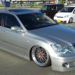 BBS LM - JDM Toyota Crown on Diamond Black BBS LM