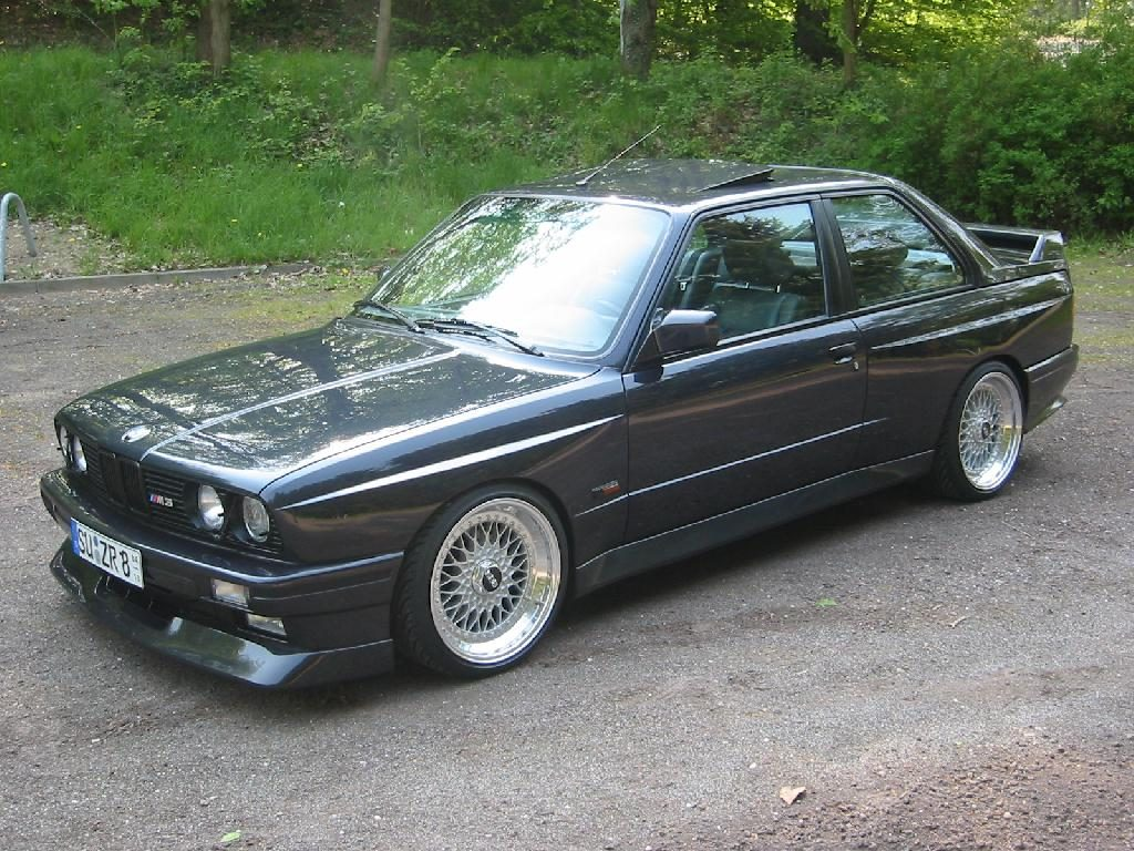 BBS RS - BMW E30 M3 Evo on BBS RS