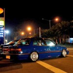 "BBS RS - Blue EF Honda Civic Sedan on 15"" BBS RS"