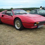 BBS RS Gold on Red Ferrari 308 GTS