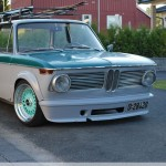 2 Tone E10 BMW 2002 on Tiffany Blue BBS RS