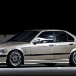 Champagne BMW 325i E36 on 17