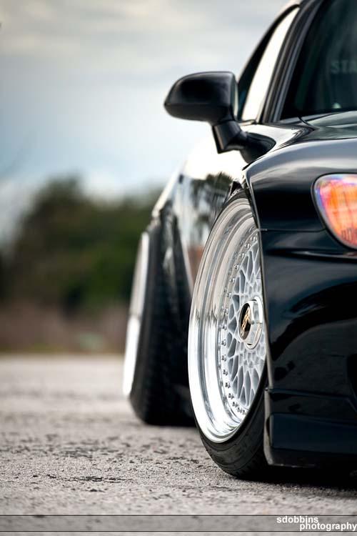 """17"""" BBS RS on Black Honda S2000"""