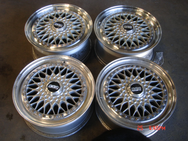 White Nissan 300zx Twin Turbo z32 on 17x8 BBS RS