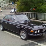 Classic E9 BMW 3.0 CSi on Silver 16