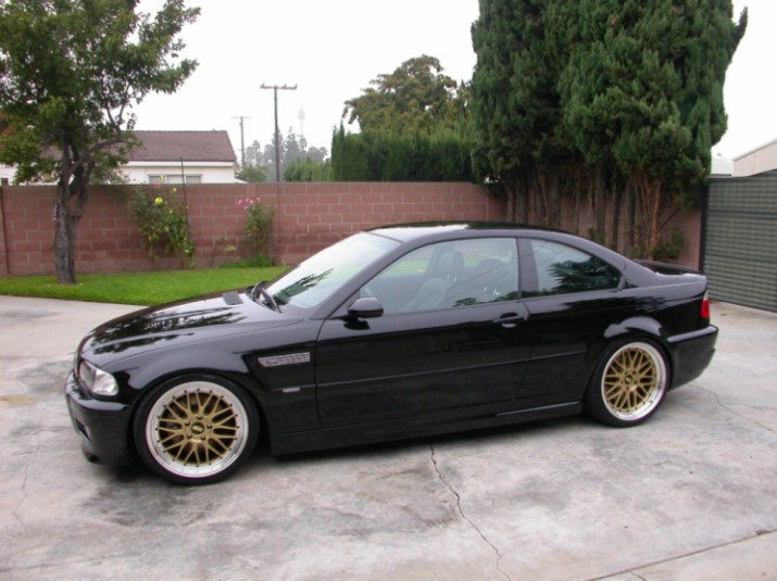 Gold BBS LM E46 BMW M3
