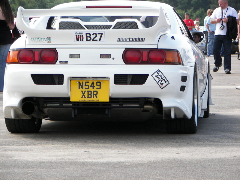 "White JDM Toyota MR2 Sw20 on 17""/18""Silver BBS LM"