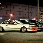 JDM Toyota Soarer on Silver BBS RS
