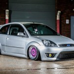 BBS RM in Purple on Silver Ford Fiesta