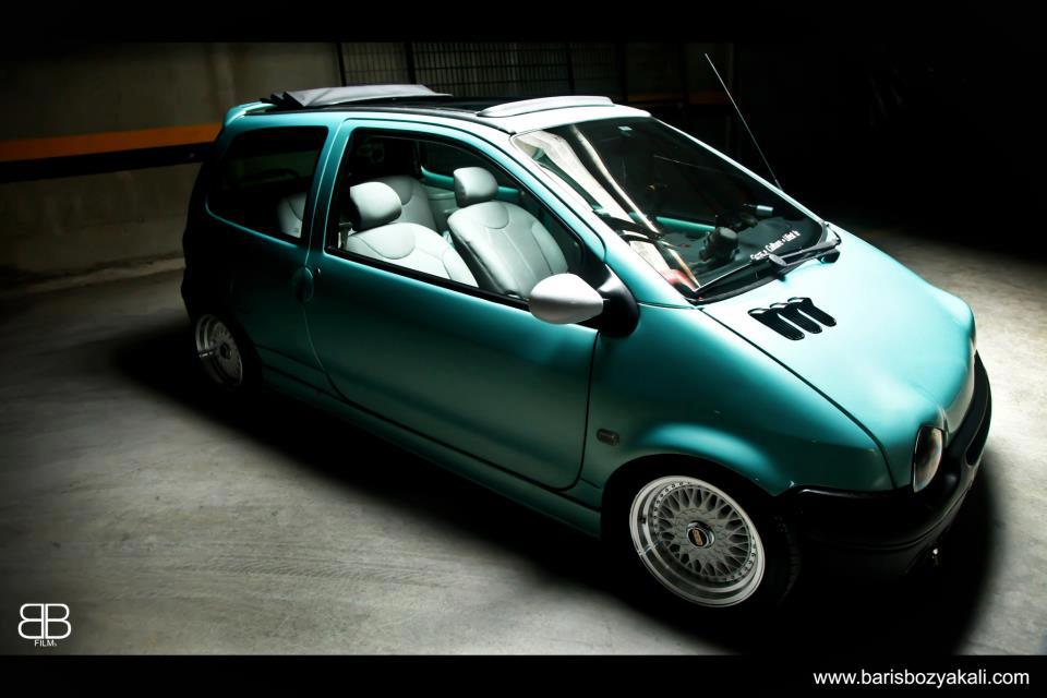 BBS RS on Renault Twingo