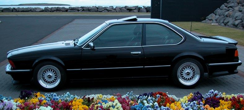 BBS RS 16x10 on BMW E24