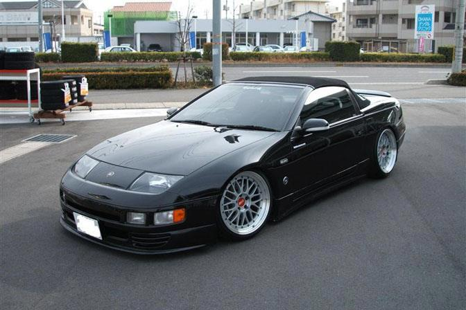 BBS LM on JDM Z32 Nissan 300zx Convertible