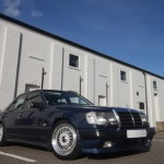 BBS RS & BBS Steering Wheel on Mercedes Benz 300E W124