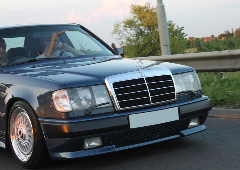BBS RS on Mercedes Benz 300E W124