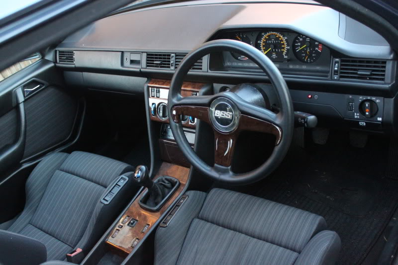 BBS Steering Wheel on Mercedes Benz 300E W124