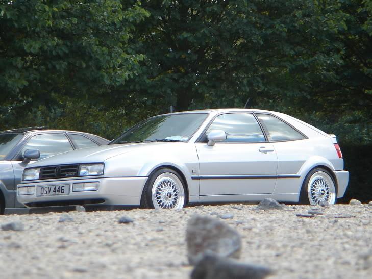 """Silver Volkswagen Corrado 17"""" BBS RS 301"""